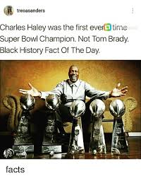 Haley Meme - tresasanders charles haley was the first eve time po super bowl