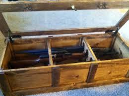 coffee table gun cabinet wallabys design