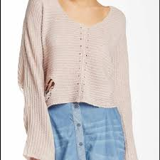 wildfox wildfox distressed crop sweater from ipoak s closet on