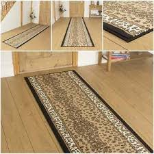 Leopard Print Runner Rug Leopard Animal Print Hallway Carpet Runner Rug Mat For