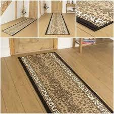 Leopard Runner Rug Leopard Animal Print Hallway Carpet Runner Rug Mat For
