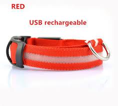 Light Up Dog Collar Led Glow Dog Collar Brand New On Andogo And High Quality