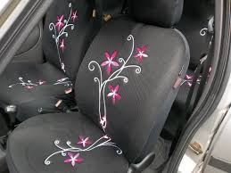 nissan micra seat covers nissan pixo note car seat covers full set orchid flower design