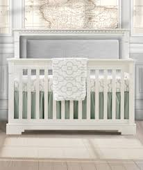 White 4 In 1 Convertible Crib by Natart Ithaca Collection 4 In 1 Convertible Crib In White With