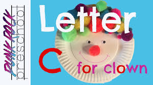 letter c for clown craft best abc crafts for kids fun letter