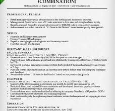 Retail Store Resume Objective Sample Of Retail Resume Sample Retail Resume