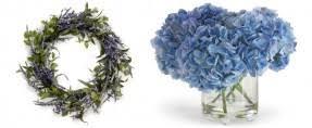Blue Flower Vases Artificial Flowers In Vase Foter