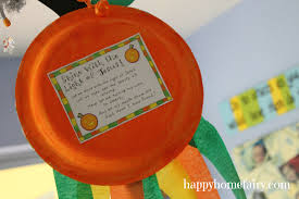Halloween Pumpkin Crafts A Christian Pumpkin Windsock Craft Free Printable Happy Home