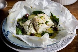 cuisine papillote skrei cod en papillote recipe great chefs