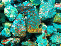 turquoise gemstone 1000 carat lots of chrysocolla u0026 turquoise rough plus a free