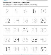 counting by 2s to 50 kindergarten counting a wellspring