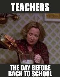 School Starts Tomorrow Meme - back to school with freebielicious teacher summer and school