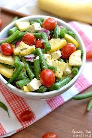 fresh green bean salad lemon tree dwelling