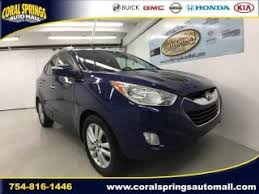 2011 hyundai tucson limited for sale used 2011 hyundai tucson for sale serving ft lauderdale sku