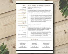 cv template design and cover letter resume template professional