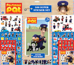 postman pat 500pcs super sticker fun stickers