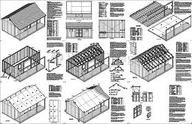 Floor Plans For Sheds 14 U0027 X 20 U0027 Cape Code Storage Shed With Porch Plans P81420 Free
