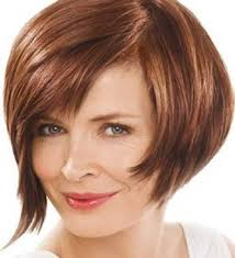 best hairstyle for square face over 40 short stacked hairstyles with highlight for straight thick hair in