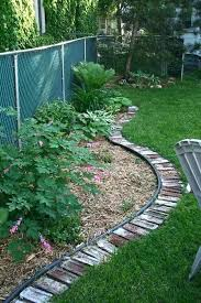 Garden Lawn Edging Ideas Brick Edging Landscaping Top Surprisingly Awesome Garden Bed