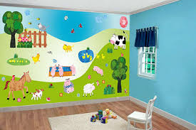 Wall Decor Stickers For Nursery Vibrant Nursery Decor Stickers Baby Room Wall Decals