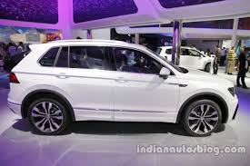 volkswagen tiguan 2017 r line 2016 vw tiguan sport r line at auto china 2016 side profile