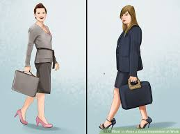 how to make a good impression at work 15 steps with pictures