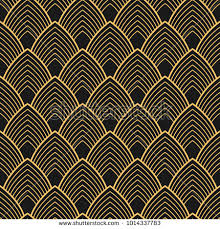 deco wrapping paper deco vector seamless pattern vintage stock vector 1014337783