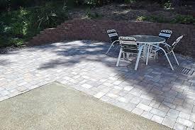 Diy Patio Pavers Installation Patio Ideas Concrete Patio Vs Pavers Cost Resurfacing Pavers