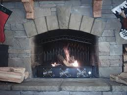 Fireplace With Blower by File Arched Double Row Fireplace Blower Jpg Wikimedia Commons