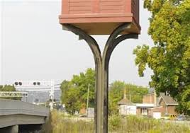 replica railroad watchtower erected in carnegie pittsburgh post