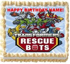 transformer party favors transformers rescue bots birthday party supplies and themed ideas