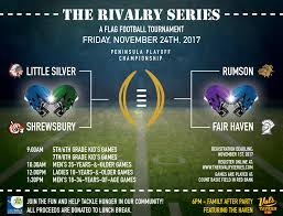 Nj Flag Football The Rivalry Series Flag Football Event Coming In November