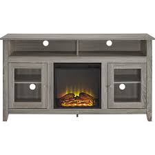 fireplace tv stand best buy