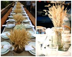 centerpieces for wedding tables rustic table decorations fabulous rustic wedding decoration ideas