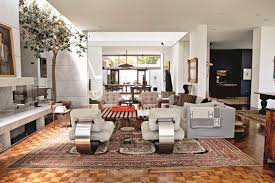 Two Different Sofas In Living Room by Ellen Degeneres Takes Us Inside Her Pretty Houses In U0027home U0027 La Times