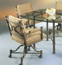 beautiful design kitchen chairs with wheels dining room chairs