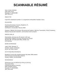 Medical Transcription Resume Sample by Scannable Resume Samples Http Exampleresumecv Org Scannable