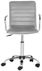 Upholstered Swivel Desk Chair Fox7520c Desk Chairs Furniture By Safavieh