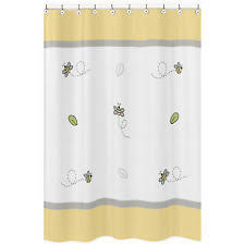 Baby Bathroom Shower Curtains by Fairy Tale Pink Yellow Baby Bath Fabric Shower Curtain Sweet