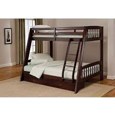 Rockdale Twin Over Full Wood Bunk Bed Espresso Walmartcom - Full and twin bunk bed