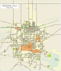 Map Of Illinois by Maps Welcome To Charleston Illinois