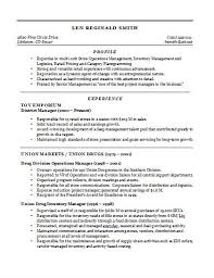 sample resume retail sales sample cover letter for retail sales
