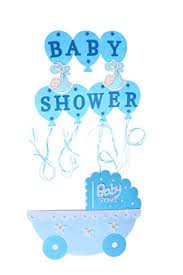 amazon com blue baby shower wall decorations blue baby boy