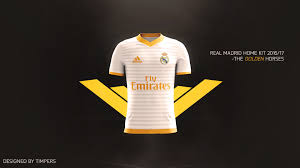 photoshop football kit design advertisement real madrid home kit