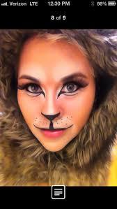 Lion Halloween Costume Lion Makeup Halloween U0026 Special Fx Makeup