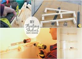 Floating Wood Shelves Diy by Diy Floating Shelves