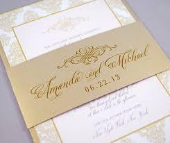 ivory blush and champagne wedding invitations wedding