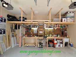 Wood Shelving Plans Garage by 39 Best Garage Images On Pinterest Diy Garage Shelf And Home