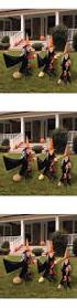halloween 170094 group of spooky witch halloween lawn props