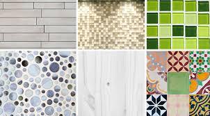 kitchen backsplash materials different types of material for kitchen and bathroom backsplashes